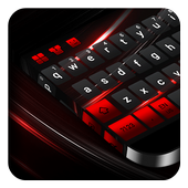 Black Red Keyboard  APK v10001002 (479)