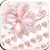 Pink Glitter Keyboard  APK 10001009