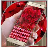 Rose petal keyboard APK 10001005