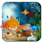 Live wallpaper for pc of fish