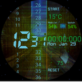Binary Vision Watch Face 2 Android for Windows PC & Mac