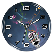 Music Clock Live Wallpaper For PC