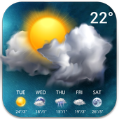 Temperature&Live Weather free in PC (Windows 7, 8 or 10)
