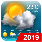 Weather updates&temperature report in PC (Windows 7, 8 or 10)