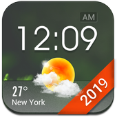 Home screen clock and weather,world weather radar app in PC