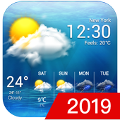 free live weather on screen in PC (Windows 7, 8 or 10)