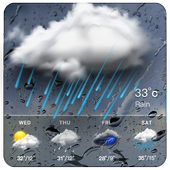 Real-time weather forecasts in PC (Windows 7, 8 or 10)
