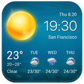 Local Weather Widget&Forecast APK v16.1.0.46700 (479)
