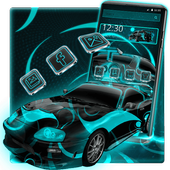Neon Car Theme  For PC