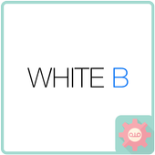 ColorfulTalk - White B 카카오톡 테마 201704