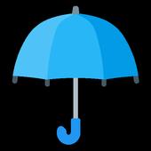 Зонтик - уведомления о дожде. Погода на завтра.