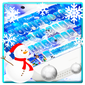 Snow Christmas Keyboard Theme  Latest Version Download