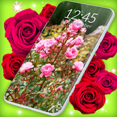 Download Red Rose 🌹 Diamond Shine Live Wallpaper 5.0.2 APK File for Android