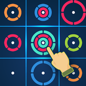 ZK1 - Circle puzzle color rings mind free game  APK 105