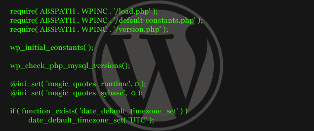 php in wordpress blog post