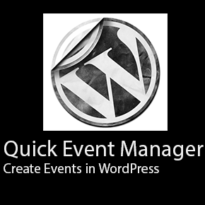 Create Events in WordPress with Quick Event Manager