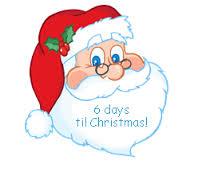6 days till Christmas