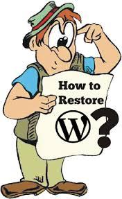How to Restore WordPress blog Databas