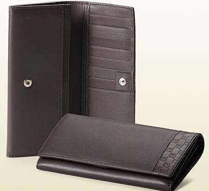 Men's Gucci Continental Wallet