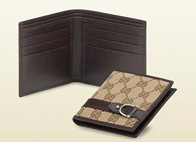 Spur Bi-Fold Wallet by Gucci
