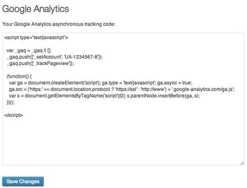 Carolyn Google Analytics WordPress Plugin