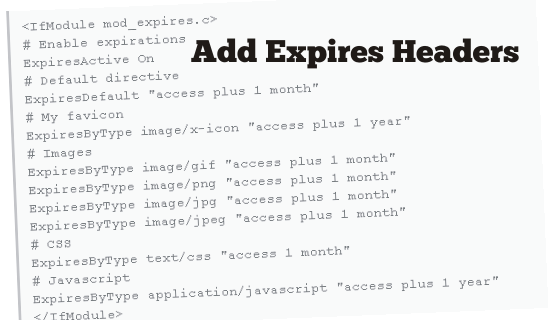 Expires Headers in htaccess file