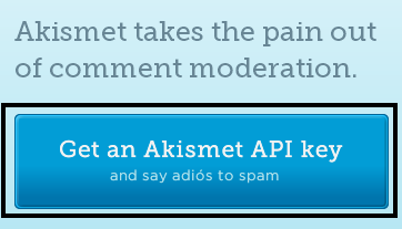 Get Akismet API Key for WordPress