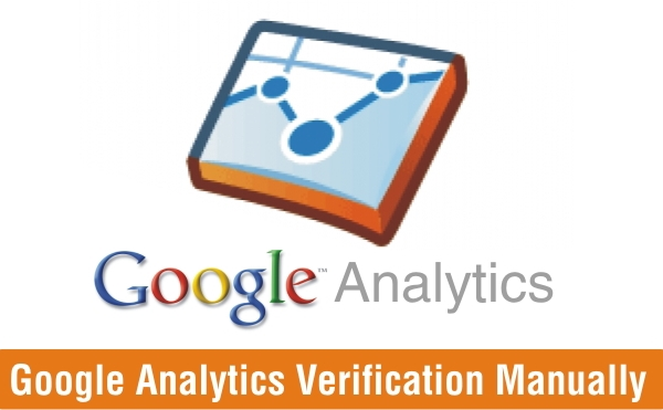 Google Analytics Verification Manually in WordPress