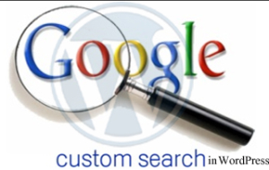 Google Custom search in WordPress