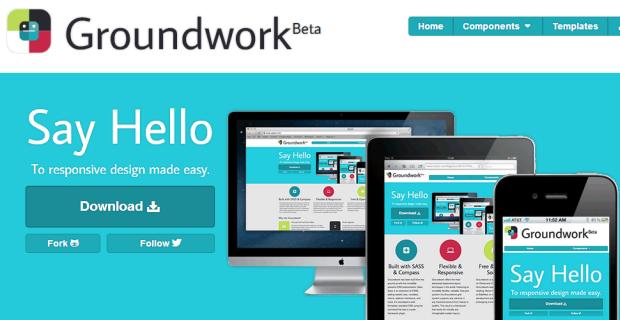 Groundwork Responsive CSS FrameWork