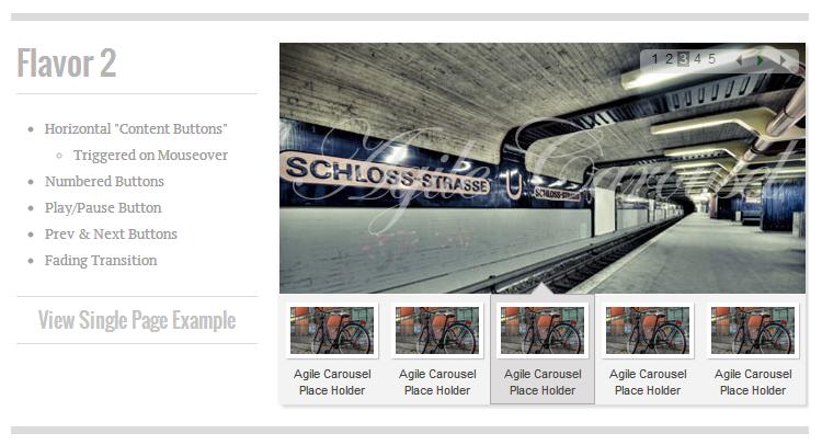 Javascript Slideshow Image Carousel