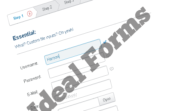Jquery Ideal Forms