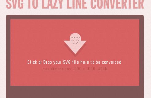 SVG to Lazy Line Converter