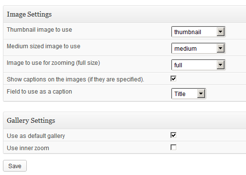 jQuery Image Zooming WordPress Plugins