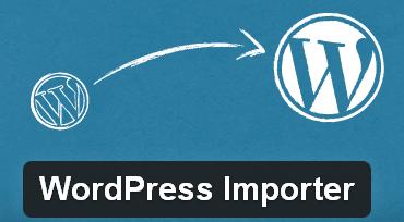 WordPress to WordPress Importer