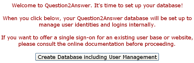 question2answer  have been Installed