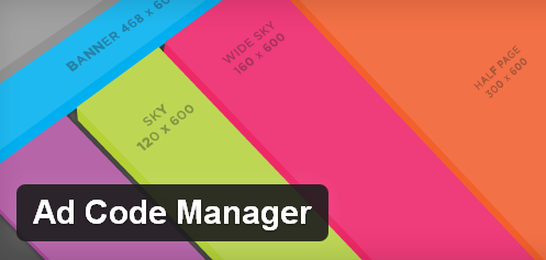 Ad Code Manager WordPress Plugin
