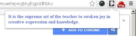 Albert Einteins Quotes Google Chrome Extension
