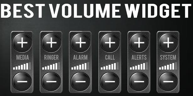Best Volume Widget Android App
