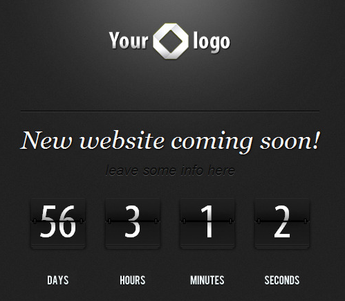 Countdown jQuery for Coming Soon Pages