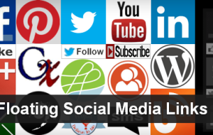 Floating Social Media Links WordPress Plugin