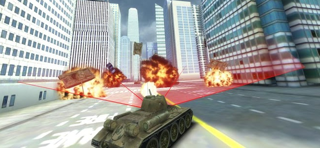GTA Tank vs New York for Android