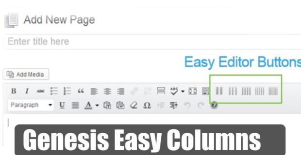 Genesis Easy Columns