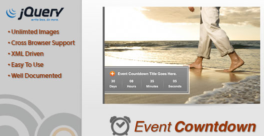 JavaScript Event Countdown