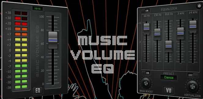 Music Volume EQ Android Application