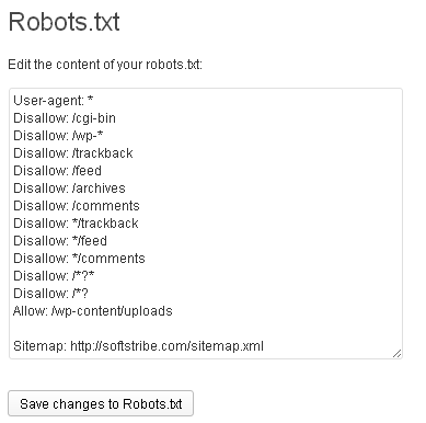 how to create robot txt file for website