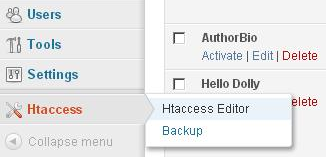 WP htaccess Editor01