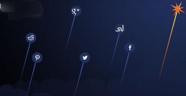 WordPress Flare simple social sharing Plugin