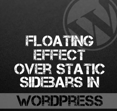 Floating Sidebars in WordPress