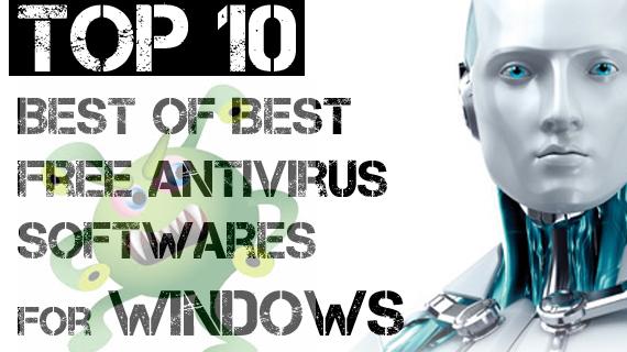top 10 best of best antivirus for windows